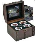 Niue 2011 4x 2$ Real Pirates of the Caribbean 4x 1 Oz 2$ Silver Coin Proof Set