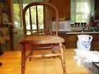 antique childs chair, cane seat, 21 high, seat 10.5 wide