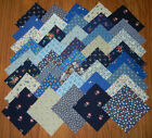 4x4 Fabric Squares VINTAGE BLUE 20 Quilt Blocks Kits Quilting