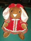 BUNNY TOYS R US 1985 RED DRESS 12
