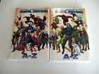 OFFICIAL HANDBOOK OF THE MARVEL UNIVERSE VOLS. 2-4 New! 66% Off! Free Shipping