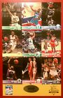 1994 Skybox NBA 9 card promo sheet 15th National Sports Collectors Convention
