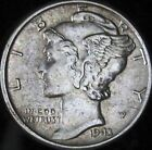 1943-P MS+++ Mercury Dime - Free Shipping - GO