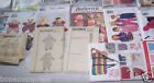 Lot 18 Butterick Child Costume Cabbage Doll Home Pillow Snow AS IS* G