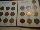 NEW ZEALAND PRE-DECIMAL: PENNIES COIN SET FROM 1933-1965 !!!!!!!!!!!!!!!