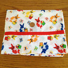 VINTAGE Novelty FABRIC Retro RABBIT Easter Bunny BUTTERFLY Eggs COTTON Quilt/Sew