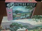 Vtg Puzzle * Farm * Down in the Valley * 14 x 18 * Guild 29 cent * 304 pieces