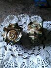 Vintage Conch Sea Shell Salt and Pepper Shakers