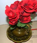 McCoy Pottery/Vintage Olive Green Ceramic Decorative Collectible  Bowl