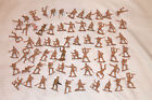 VINTAGE LOT OF 64 ARMY WAR SOLDIERS HTF RARE OLD PLASTIC ARMY MEN