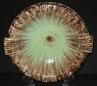 VINTAGE WEST GERMAN POTTERY BOWL ASHTRAY DRIP GLAZE FAT LAVA MID CENTURY MODERN