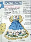 Daisy Kingdom BUNNY HOP DOLL DRESS Fabric Panel ~ Easy to Sew!  For 18
