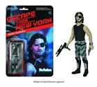 *NEW* Reaction Escape from New York ~ SNAKE PLISSKEN ~ Action Figure *MIB*
