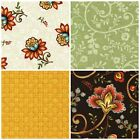 MIA by Kathy Brown Fabric Collection Red Rooster Jacobean-style Mia's Quilt Mia