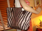 NWT COACH Madison ZEBRA Print North/South TOTE 26633 DUST BAG  HOT!!