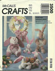 McCall's Sewing Pattern 3500 Easter Bunny Hop Basket Egg Wreath New