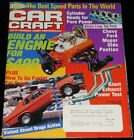 OCTOBER 1998 CAR CRAFT MAGAZINE DRAG ACTION, CHEVY NOVA, ENGINE BUILD