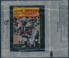 1977 Topps Mexican Football Wax Empty Wrapper Nice Condition Scan 15900