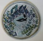 MARIE MADELEINE JOLLY (LE TRISKEL) Arlequin Art Pottery Plate