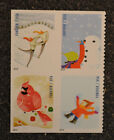 2014USA 4937 4940 Forever Winter Fun Block 4 From Booklet Mint NH christmas