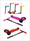 Hot Fashion Kids Mini Kick Scooter Stability 3 Wheels Portable Tricycle 3-14T US