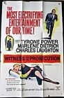 WITNESS FOR THE PROSECUTION 58 1 SH DIETRICH LAUGHTON POWER BILLY WILDER