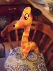 Vtg Stacee-See Originals GIRAFFE Daddy Long Legs Stuffed Animal Plush 1960's