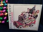 NIB MUSICAL Fitz & Floyd Santa Mobile 2003 We Wish You a Merry Christmas