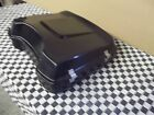 Harley Black Razor Tour Pack with spoiler lid bagger Touring  Hinged and latched