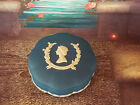 Wedgwood Jasperware Portland Blue Powder  Box Queen Elizabeth Silver Jubilee