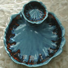 Vintage Maurice California Art Pottery Chip n Dip Platter Serving Plate USA