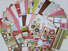CRATE PAPER Peppermint Paper  Embellishments Set B Save 75