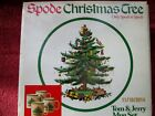 Spode Christmas Tree Green Trim - CUP - Qty 4 in Box as Pictured S 3324