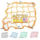 Fast Ship New Motorcycle Part 5 Color Helmet Web Cargo Net Mesh For Rear Replace