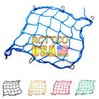 Brand New Motorcycle Part 5 Color Helmet Web Cargo Net Mesh For Rear Replacement