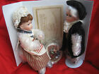 NIB HERITAGE SIGNATURE COLLECTION PORCELAIN DOLL * BEN & BETSY *  W/ COA #12347