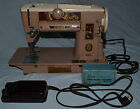 Singer 401A Sewing Machine with accessories foot controller power cord vintage
