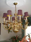 antique brass solid chandelier