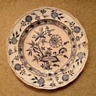 B W & Co Dresden Late Mayers Blue Onion China Dinner Plate Staffordshire 1875-8