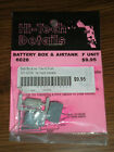 Hi-Tech Details Battery Box & Airtank #6026 F Unit HO Scale Brand New & Sealed