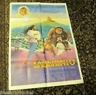 LABYRINTH! David BOWIE Rare MOVIE POSTER Jim Henson MAGIC DANCE Muppets