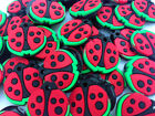 HOT 50PCS Beetle Rubber Charms For Rainbow Loom Bands for bracelet