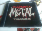 CALIFORNIA METAL Vol II 2 CD  Emerald Vision Judea Soldier Mastedon Ransom Recon