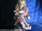 Very Nice VTG Porcelain Doll 17' Tall .Stamped NJSF on Neck.EXCELLENT CONDITION!