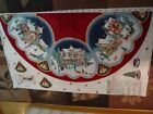 DAISY KINGDOM ANTIQUE CHRISTMAS VILLAGE TREE SKIRT OR TABLECLOTH SEWING PANEL