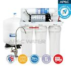 APEC 5 Stage 45 GPD Reverse Osmosis Water Filter System For Low Pressure RO-PUMP