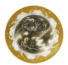 Japanese Fukagawa Porcelain Dragon in Clouds Dish Plate Marked