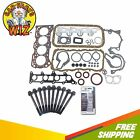 Full Gasket Set  Head Bolts Fits 89 95 Tracker Suzuki Sidekick 16L SOHC 8v