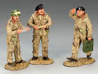 DD136 Dismounted British Tank Crew RETIRED by King & Country