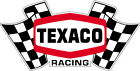 Texaco racing vintage decal Rallye Monte Carlo rare old